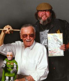 Met the Amazing Stan Lee! Made a puppet of him, too! How cool is that?