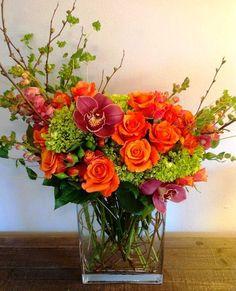 HappyModern.RU | Искусственные цветы для домашнего интерьера: как эффектно украсить жилище | http://happymodern.ru