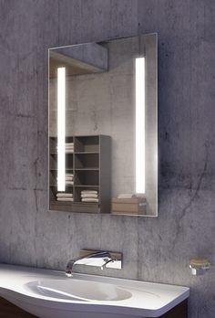 Silv Led Mirror 28 X 36 Backlit Bathroom