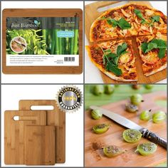 Quality Bamboo Cutting Board!  FDA approved, no chemicals used on our boards! Cut your families food with peace of  mind keeping them healthy for a long time to come.