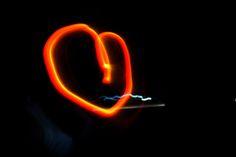 Lighting heart from my #sweetlove