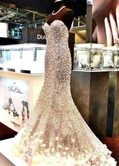 Long sparkly dress