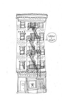 #newyork #illustration #buildings http://www.feeldesain.com/all-the-buildings-in-new-york.html