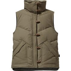 Patagonia Toggle Down Vest - Women's Patagonia Vest, Cold Weather Gear, Down Vest, Winter Looks, New Wardrobe, Canada Goose Jackets, Military Jacket, Raincoat, Winter Jackets