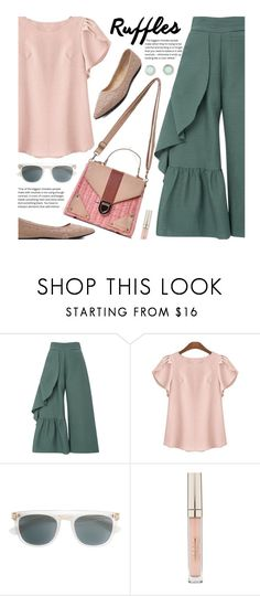 """""""Untitled #2992"""" by beebeely-look ❤ liked on Polyvore featuring Rachel Comey, Mykita, Stila and plus size clothing"""