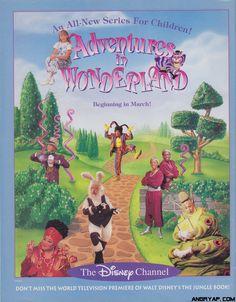 adventures in wonderland disney channel show