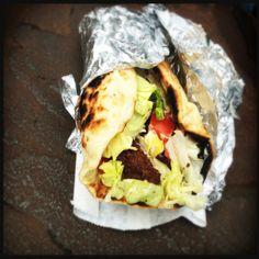 Falafel from Al Salaam Deli, Savannah