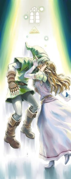 The Legend of Zelda: Ocarina of Time, Adult Link and Adult Princess Zelda