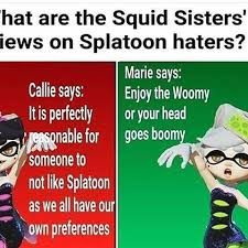 Splatoon Memes, Splatoon Comics, Splat Tim, Callie And Marie, Pokemon, Nintendo Characters, Anime Nerd, Clean Memes, Gamers