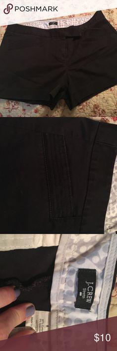 "J.crew 3"" shorts size 8 Black J.Crew size 8 shorts ""3 J. Crew Shorts Skorts"