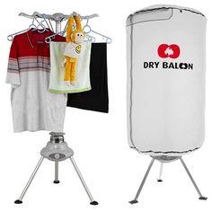 Dry Balloon Wäschetrockner *** Ballontrockner *** Hängetrocker *** Wäschetrockner *** Dry Ballon *** Sanft wäschetrocknen *** 360 Grad Umluftsystem ***: http://amzn.to/2rDbZZM .de: Baumarkt