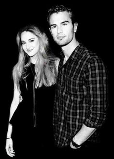 Shailene Woodley and Theo James - Divergent.