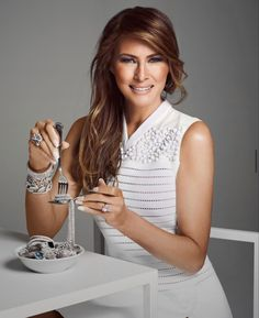 Melania Trump Interview, Milania Trump Style, Donald And Melania, Date Outfit Casual, First Lady Melania Trump, Beautiful Family, Beautiful People, Funny Dating Quotes, Flirting Memes