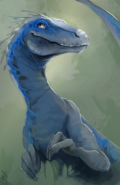 taigordonart:  By far the best raptor. She's naked, I'm sorry. Maybe eventually I'll do a proper feathered rendition.