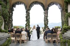 Villa Balbianello, Lake Como, Italy. K and B wedding by Lauren Michelle.  #wedding #venue #space #Italy #photography