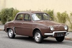 1963 Renault Dauphine. Peugeot, Bike Reviews, Vintage Classics, Small Cars, Electric Cars, French Vintage, Vintage Soul, Drag Racing, Old Cars