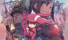 Anunciada la serie de TV de Sword Art Online Alternative Gun Gale Online
