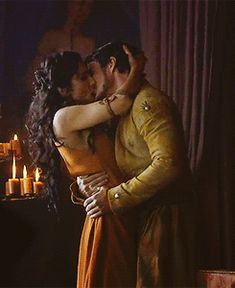 Game of Thrones images Oberyn Martell & Ellaria Sand wallpaper and background photos