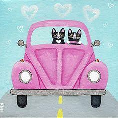 Pink Love Bug.