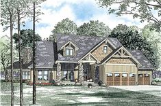 House Plans And More, Family House Plans, Dream House Plans, House Floor Plans, My Dream Home, Dream Homes, Dream Big, Rustic House Plans, Country Style House Plans