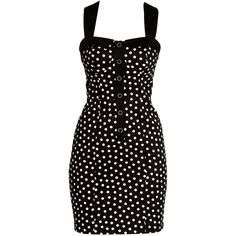 Kelly Brook Black Spot Bodycon Dress discovered on Fantasy Shopper Band Outfits, Black Spot, Black Pattern, Kelly Brook, Dress Collection, Teen Fashion, New Look, What To Wear, Latest Trends