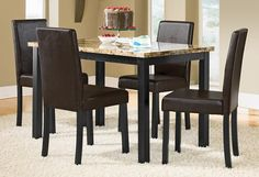 Keystone Dining Room Collection - Value City Furniture-Table Value City Furniture, Dining Room Furniture, Dining Chairs, Dining Rooms, Dream Decor, Dining Set, House Ideas, Walls, Home Decor