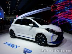 Front three quarter of the Toyota Yaris Hybrid-R Concept