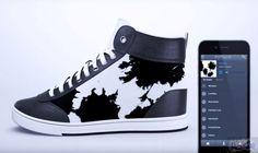 """اختراع أحذية ذكية للعبة بوكيمون غو: ابتكرت الشركة المصنعة للأحذية الذكية """"Vixole"""" أحذية مرفقة بشاشات LED متكاملة وأجهزة استشعار للعبة…"""