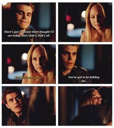 caroline, stefan and lexi