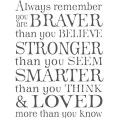 You Are Braver Than You Believe Free Pdf Download Well Said