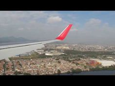 Landing in Rio de Janeiro (Galeão) on Latam 767-300 - YouTube