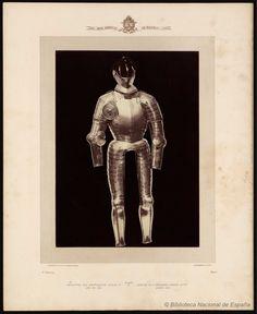 Armadura del emperador Carlos Quinto año de 1531.. Laurent, J. 1816-1886 — Fotografía — 1868