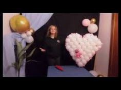 How to make a flat balloon heart with tulip twist decor. With the RMS net, you can make many shapes. Heart Diy, Lovers And Friends, The Balloon, Gift For Lover, Art Tutorials, Balloons, Shapes, Make It Yourself, Globes