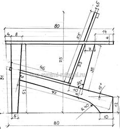 Fixed Adirondack Chair Woodworking Furniture, Wooden Furniture, Furniture Plans, Furniture Making, Cool Furniture, Woodworking Plans, Woodworking Projects, Furniture Design, Wood Plans