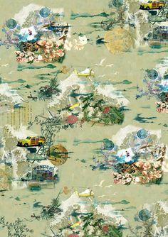 Jacky Tsai - Surf (digital collage)