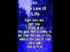 53 THE LAW OF LIFE