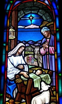 Stained Glass Windows at Providence Presbyterian Church in West Columbia, SC