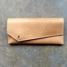 Raven + Lily Fair Trade Azeb Taupe Leather Wallet - Wallets - Shop Nectar - 1