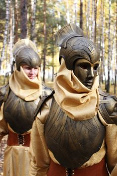 Inspiration for the mask of the War Prince. Plastic and leather. (Mix Women Art)