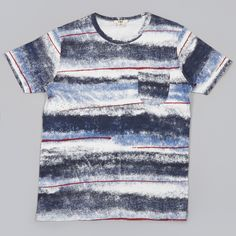 YMC Sprayed Effect Tee - Multi