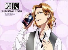 Kusanagi Izumo, mi nuevo amor. Me encanta su personaje!!!  Me gusto mucho este look