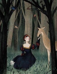 Snow White print by taryndraws on Etsy