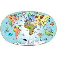 Stickers - Michel Agullo - Stickers Africa planisphère