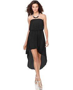Just got a dress like this in Florida, asymmetrical hemline  seems to be the new thing!