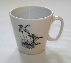 Restaurant-Ware-SHENANGO-Geese-Flying-over-Marsh-6oz-CUP-P-31
