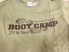 Go Ahead & Craft: Young Womens Boot Camp- love the hiking boot foot print pattern