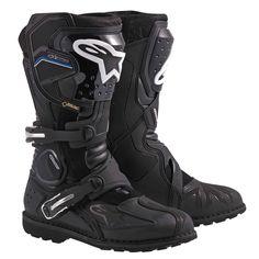 Alpinestars Toucan Gore-Tex Botas de moto Negro 48 – Famous Last Words Forma Adventure, Adventure Boots, Mens Motorcycle Boots, Motorcycle Touring, Motorcycle Equipment, Bobber Motorcycle, Gore Tex Boots, Bmw Autos, Audi