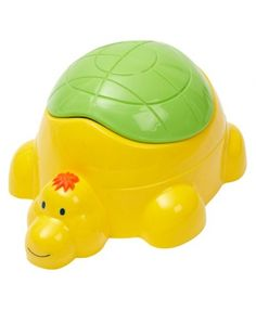 Tippitoes Turtle Potty-Yellow/Green