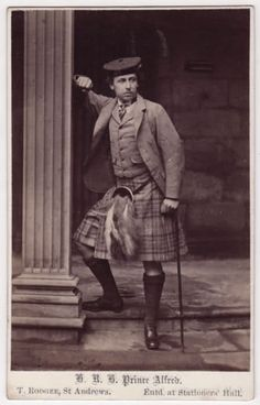Prince Alfred - Thank you for loving the tartan !