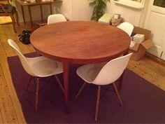 Spisebord, Teaktræ, b: 2300